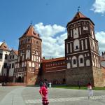 Мирский замок в Беларуси. Фото, история, легенды, полезная информация, отзыв.